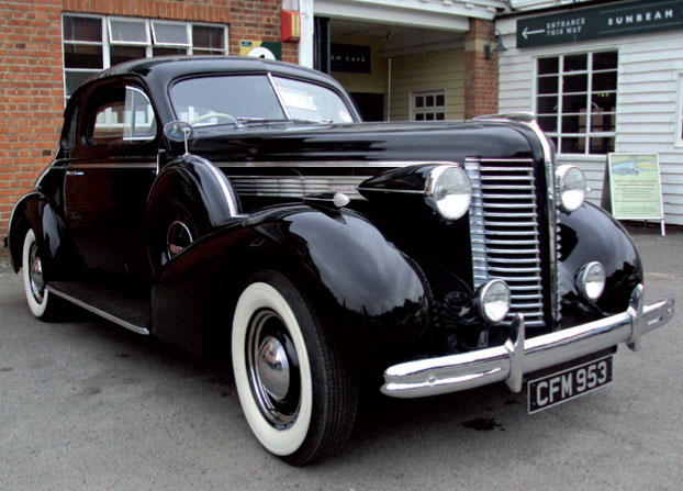 Gerry Bowler's Black 1938 Buick Special Coupe